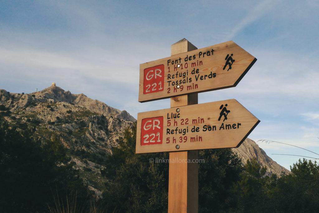 Sendero GR221 Ruta de la Pedra en Sec, Mallorca