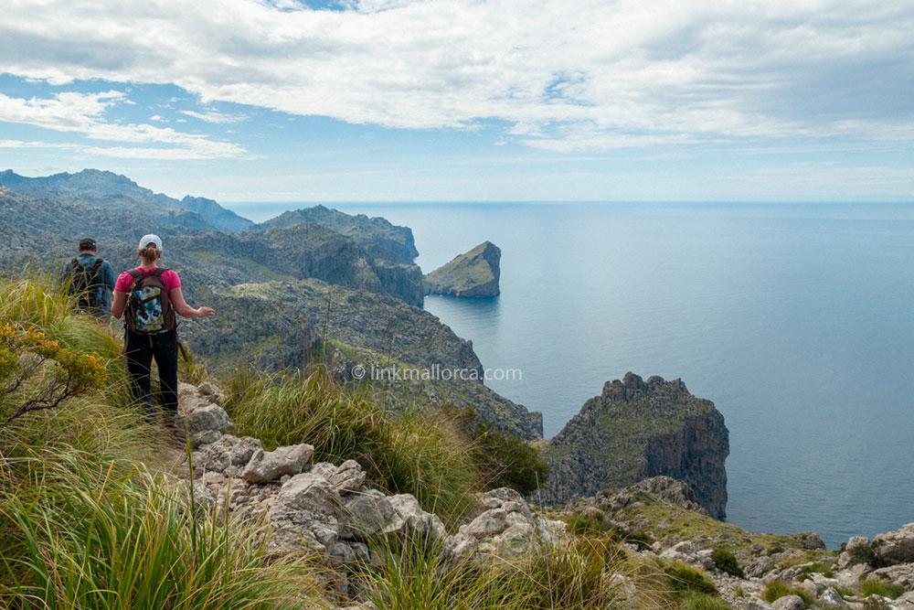 Ruta senderismo Volta al Puig Roig Mallorca